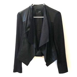 Stitch Fix Edyson Faux Leather and Knit Jacket
